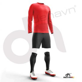 Halı Saha Kırmızı Kaleci Forması
