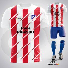 Atletico Madrid Kırmızı Dijital Halı Saha Forma