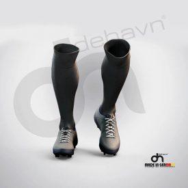 Halı Saha Çorabı Siyah