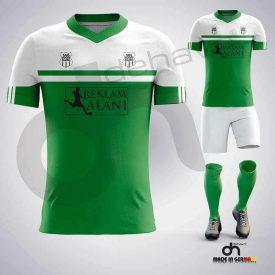 Asist Yeşil-Beyaz Dijital Halı Saha Forma