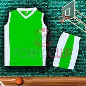 Basketbol Forması Yeşil/Beyaz